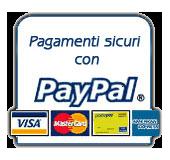Pagamento sicuro con PayPal